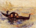 venetian gondola ii by pierre auguste renoir paintings