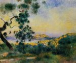 view of antibes by pierre auguste renoir paintings