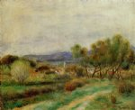 view of la sayne by pierre auguste renoir paintings