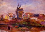 windmill by pierre auguste renoir paintings