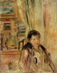 woman in an interior ii by pierre auguste renoir paintings