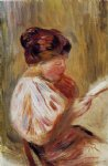 woman reading iv by pierre auguste renoir painting