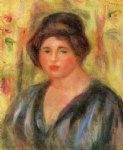 woman s head ii by pierre auguste renoir paintings