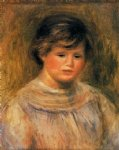 woman s head iv by pierre auguste renoir paintings