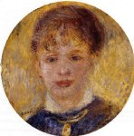 woman s head vi by pierre auguste renoir paintings