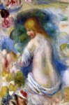 woman s nude torso by pierre auguste renoir paintings