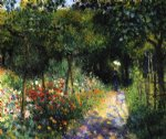 women in a garden by pierre auguste renoir paintings