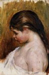 young girl reading iii by pierre auguste renoir painting