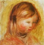 young girl by pierre auguste renoir painting