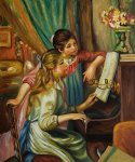 pierre auguste renoir young girls at the piano ii paintings