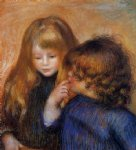 young gypsy girls by pierre auguste renoir painting