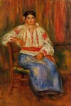 young roumanian by pierre auguste renoir paintings