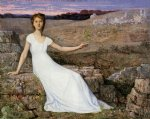 hope by pierre puvis de chavannes painting