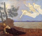 the dream by pierre puvis de chavannes painting