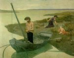 the poor fisherman by pierre puvis de chavannes painting