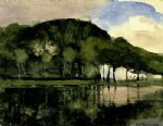 along the amstel by piet mondrian art