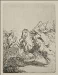 a battle by rembrandt van rijn prints