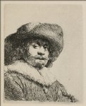 a portrait of a man with a broad by rembrandt van rijn prints