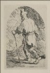 rembrandt van rijn a sketch for a flight into egypt painting