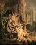 ecce homo ii by rembrandt van rijn oil paintings