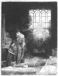 rembrandt van rijn original paintings - faust by rembrandt van rijn