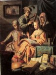 music workshop by rembrandt van rijn oil paintings