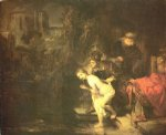 rembrandt van rijn susanna and the elders painting