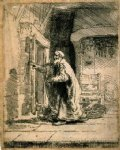 rembrandt van rijn the blindness of tobit paintings