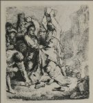 rembrandt van rijn the martyrdom of st. stephen painting