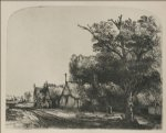 the three cottages by rembrandt van rijn paintings