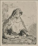 jesus original paintings - the virgin mourning the death of jesus by rembrandt van rijn