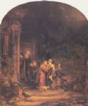 the visitation by rembrandt van rijn oil paintings