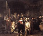 rembrandt famous paintings - night watch by rembrandt