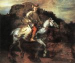 rembrandt artwork - the polish rider by rembrandt