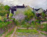 grez by robert vonnoh painting