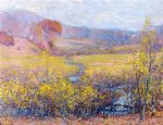 late autumn by robert vonnoh painting