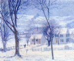late for school by robert vonnoh painting