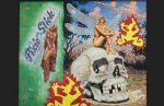 framed acrylic paintings - the chrysalis of death by robert williams
