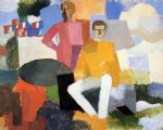 roger de la fresnaye art - the fourteenth of july by roger de la fresnaye