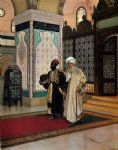 rudolf ernst original paintings - after prayer by rudolf ernst