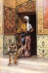 rudolf ernst the pasha s favourite tiger painting-84010