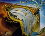 salvador dali melting watch painting
