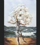 the ship by salvador dali painting