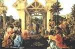 sandro botticelli art - adoration of the magi iii by sandro botticelli