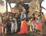 adoration of the magi iv by sandro botticelli painting