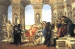 sandro botticelli art - calumny of apelles by sandro botticelli