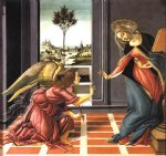 sandro botticelli art - cestello annunciation by sandro botticelli