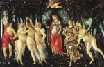 la primavera by sandro botticelli painting