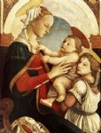 angel art - madonna and child with an angel iii by sandro botticelli