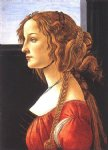 sandro botticelli portrait of a young woman ii painting-25239